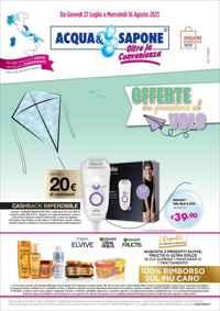 Volantino Acqua e Sapone