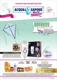 Volantini acqua e sapone volantini e offerte prodotti for Volantino acqua e sapone sicilia
