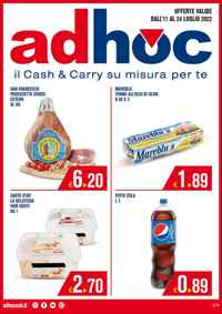 Volantino AdHoc Campania