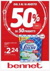 Volantino Bennet Lombardia