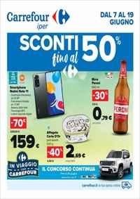 Volantino Carrefour Market Roma