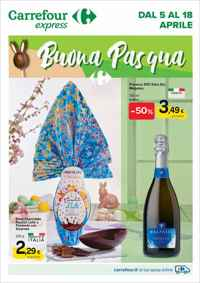 Volantino Carrefour Express Nord