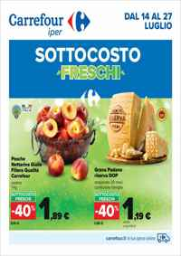 Volantino Carrefour iper Lombardia