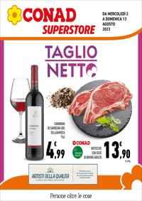 Volantino CONAD City Liguria