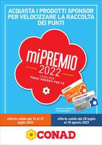 Volantino CONAD Ipermercato Lazio