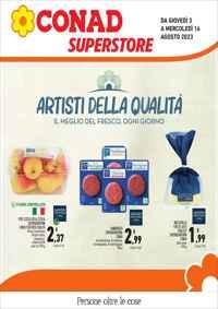 Volantino CONAD PetStore Modena