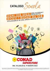 Volantino CONAD Margherita Tirreno