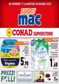 Volantino iper Ipermercato Superstore CONAD