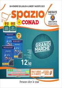 Volantino CONAD PetStore Emilia