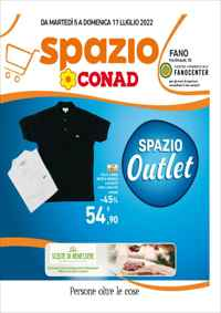 Volantino CONAD Superstore e Supermercati Lazio