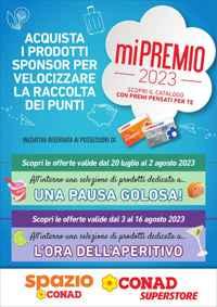 Volantino CONAD Superstore Liguria