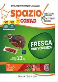 Volantino CONAD PetStore Toscana