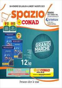 Volantino CONAD City Tirreno