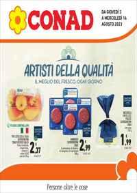Volantino CONAD Liguria