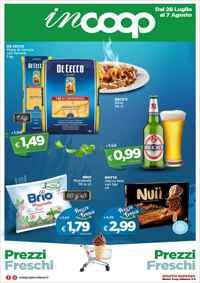 Volantino Coop inCoop iperCoop Toscana
