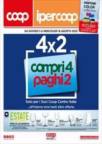 Volantino coop Calabria