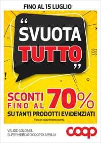 Volantino coop incoop ipercoop Umbria