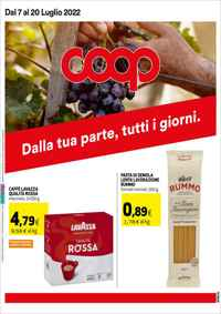 Volantino Coop inCoop Distribuzione Roma