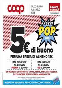 Volantino Coop Marche - Alleanza 3.0