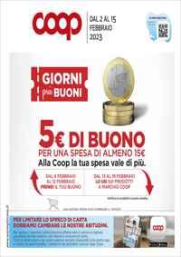 Volantino Coop Toscana