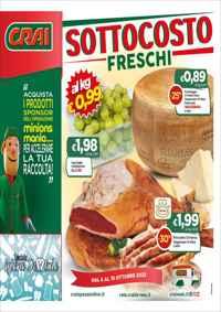 Volantino Supermercati CRAI Nord