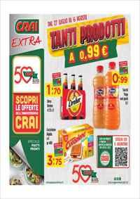 Volantino CRAI Supermercati e CRAI Simpatia