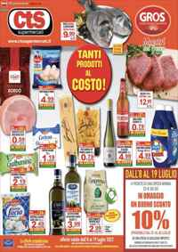Volantino CTS Supermercati  - GROS