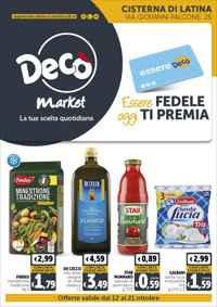 Volantino Supermercati Maxistore Local Decò Gruppo Arena