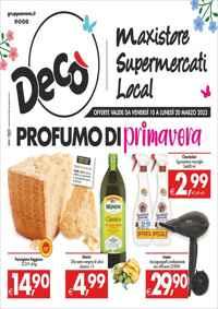 Volantino Deco Supermercati