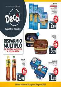 Volantino Deco Minimarket