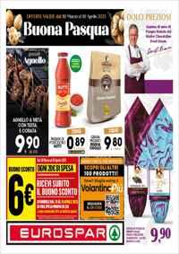 Volantino Eurospar Campania