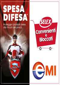 Volantino EMI Supermercato Roma