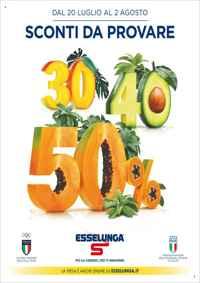 Volantino Esselunga Toscana