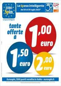Volantino Eurospin Campania