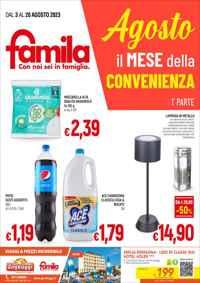 Volantino Famila Supermercati&Superstore