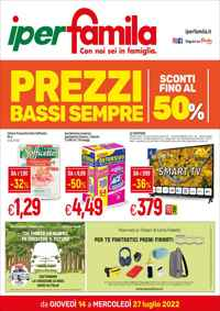 Volantino Famila Superstore Nord Italia