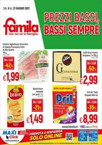 Volantino IperFamila Sud Italia