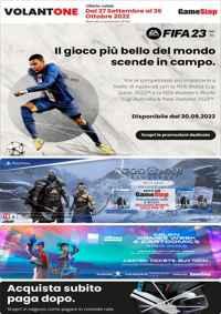 Volantone GameStop Ottobre 2017