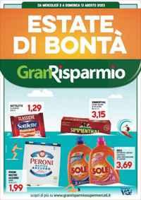 Volantino Gran Risparmio supermercati