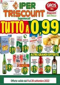 Volantino IPER TRISCOUNT - GROS