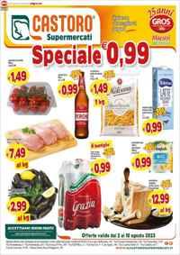 Volantino Il Castoro Supermercati  - GROS