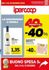 Volantino Ipercoop Sud