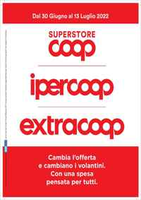 Volantino Volantino coop | ipercoop | extracoop