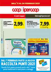 Volantino Ipercoop e supermercati Coop Sicilia