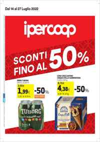 Volantino ipercoop Piemonte