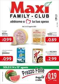 Volantino Maxi Supermercati