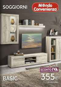 Catalogo Mondo Convenienza - Soggiorni - SCONTO IVA 22% | MondoVolantino