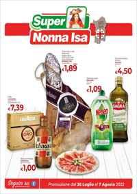 Volantino Nonna Isa Ipermercati