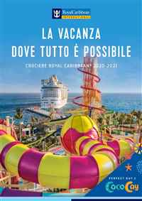 Catalogo Crociere Royal Caribbean