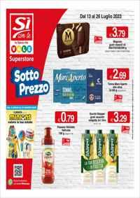 Volantino Si con Te Superstore - Supermercati - Market